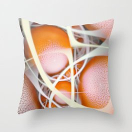 Link Stream Throw Pillow