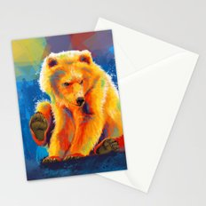 Play with a Bear Stationery Cards