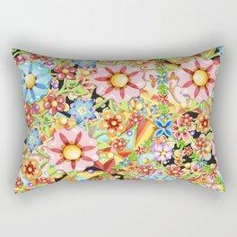 Boho Chic Millefiori Rectangular Pillow