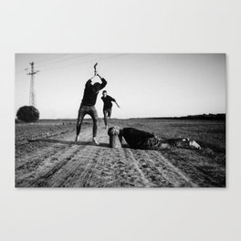 The Victim, The Rescuer and The Prosecutor Canvas Print