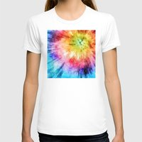 tie dye T-shirts featuring Tie Dye Watercolor by Phil Perkins