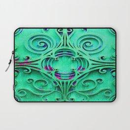 Ornate Flourish Art Deco Detail Laptop Sleeve