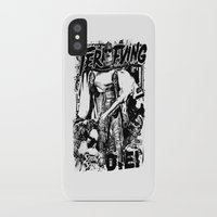 horror iPhone & iPod Cases featuring Horror by HEADBANGPARTY