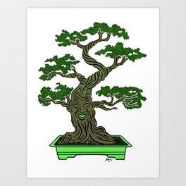 Mr. Bonsai Art Print