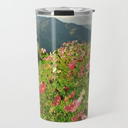 Summer Flower Field Travel Mug