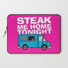 Steak Me Home Tonight (HE104) Laptop Sleeve