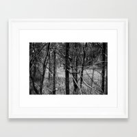 forrest Framed Art Prints featuring Forrest by Samantha Pierce