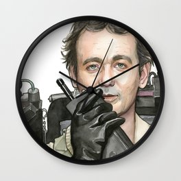 Bill Murray as Peter Venkman from Ghostbusters Wall Clock