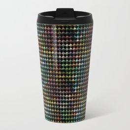 Pattern of colored diamonds Travel Mug