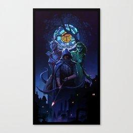 Thief 20th Anniversary Canvas Print