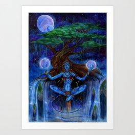 Universal Connection Art Print