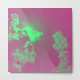 Radiant Clouds Metal Print