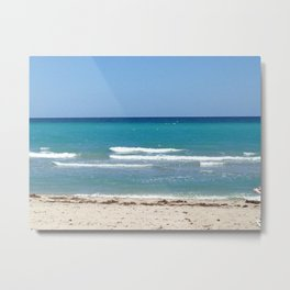 Boca beach Metal Print