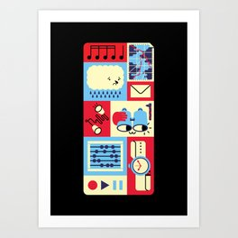 There's an App for That Art Print