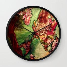 lulu - dragon trainer  Wall Clock