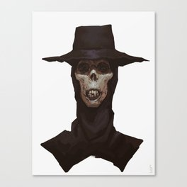 Mummy with a hat Canvas Print