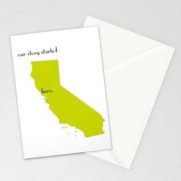 san francisco love Stationery Cards
