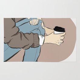 Fashion Latte To Go Rug