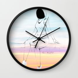 Girls on Wall - 2 Wall Clock