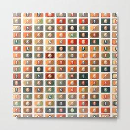Dollar Pattern 12 Metal Print