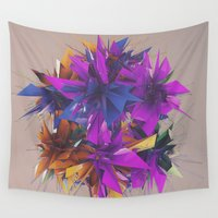 low poly Wall Tapestries featuring Low Poly by Schmeez