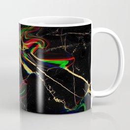 black rainbow marble Coffee Mug
