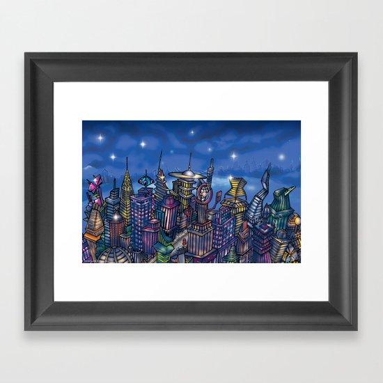 C2 & Posse (New-New York City) Framed Art Print