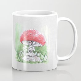 Empire of Mushrooms: Amanita Muscaria Coffee Mug