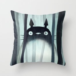 Toto ro Throw Pillow