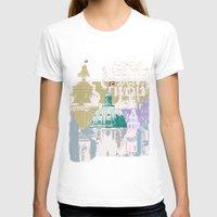 copenhagen T-shirts featuring Copenhagen Collage by Tokyo Rose