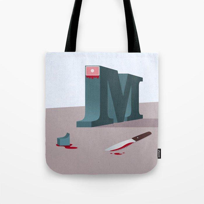 Sans-Serif Tote Bag