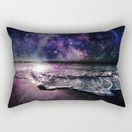 Starry Night Ocean Rectangular Pillow