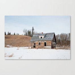 Usona Farm-house 3 Canvas Print