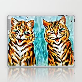 "Louis Wain's Cats ""Winking Cats"" Laptop & iPad Skin"