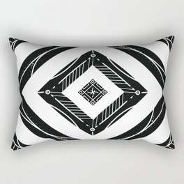 Lady b-LA.k — Flourished ver. Rectangular Pillow