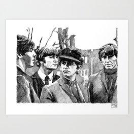 TheBeatles Art Print