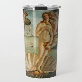 The Birth of Venus - Sandro Botticelli Travel Mug