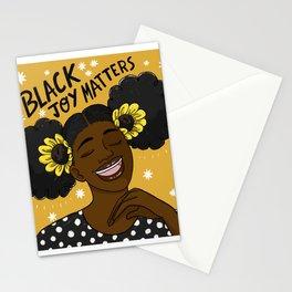 Black Joy Matters Stationery Cards