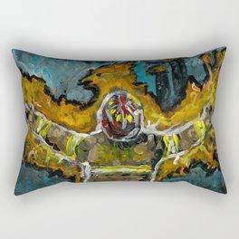 Fire Fighter Phoenix Rectangular Pillow
