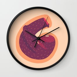 G for Gorilla Wall Clock