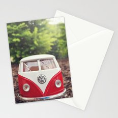 Cute Bus Stationery Cards