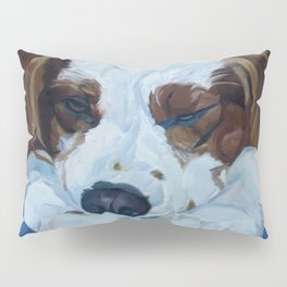 Cocker Spaniel Portrait Pillow Sham