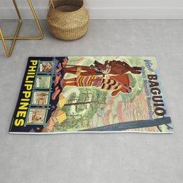 Vintage poster - Philippines Rug