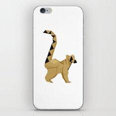 Origami Lemur iPhone Skin