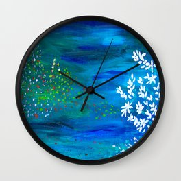 Noite feliz Wall Clock