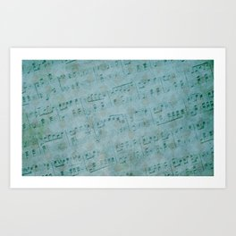Rhapsody in Blue  Art Print