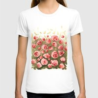 gradient T-shirts featuring Flowery gradient by Ivanka Costru