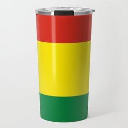 Flag: Bolivia Travel Mug