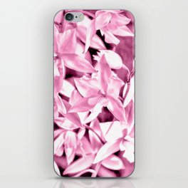 Cascading orchids - Pink iPhone Skin