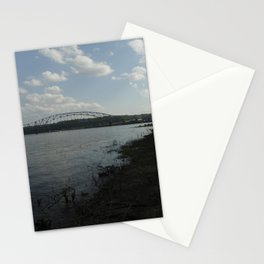 river dubuque Stationery Cards